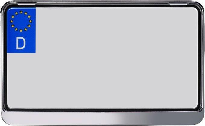 Auto Kennzeichenhalter 240x130 Chrom