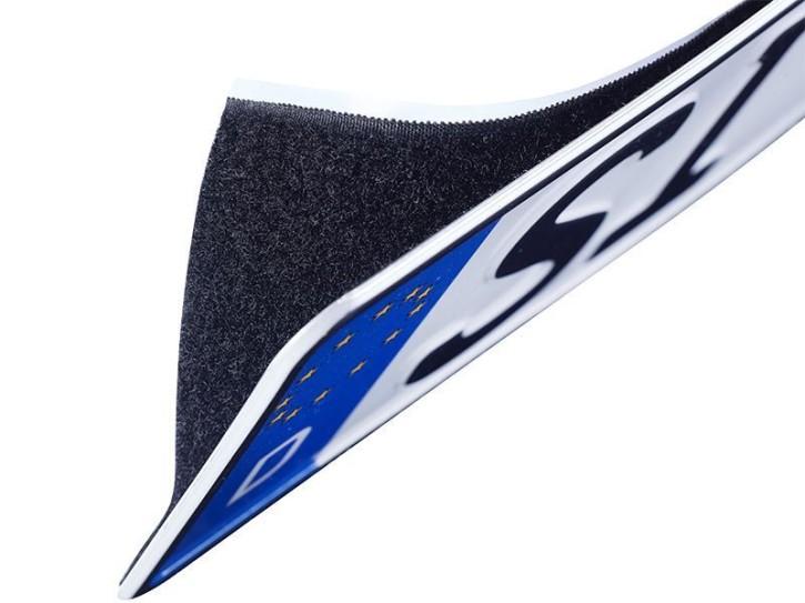 Easy-Klett Befestigungs-Set für ein KFZ-Kennzeichen