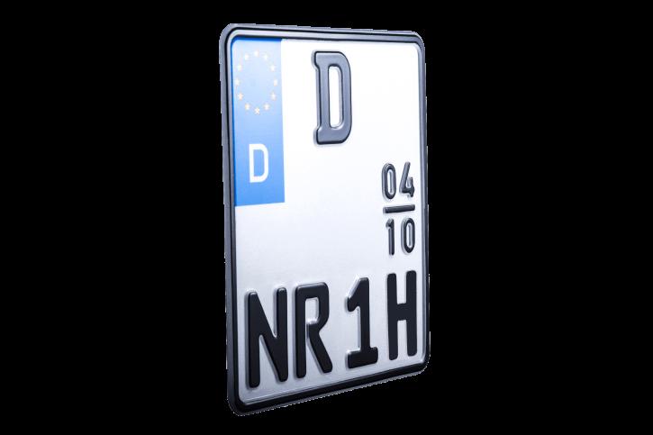 Motorrad-Oldtimer-Kennzeichen (Saisonzulassung)