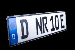 E-Kennzeichen für Elektroautos