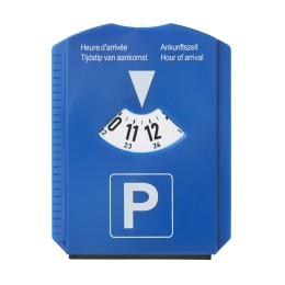 Parkscheibe Blau